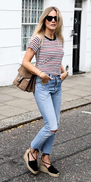 blue-light-skinny-jeans-red-tee-stripe-black-shoe-sandalw-tan-bag-sun-blonde-howtowear-fashion-style-spring-summer-weekend.jpg