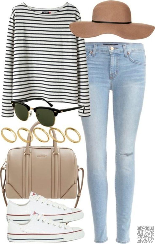 blue-light-skinny-jeans-white-shoe-sneakers-hat-black-tee-stripe-tan-bag-sun-spring-summer-weekend.jpg