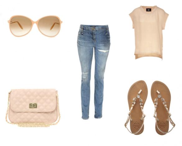 blue-light-skinny-jeans-o-peach-tee-peach-bag-tan-shoe-sandals-sun-howtowear-fashion-spring-summer-style-outfit-weekend.jpg