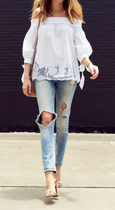 blue-light-skinny-jeans-white-top-offshoulder-tan-bag-tan-shoe-sandalh-ripped-howtowear-fashion-style-spring-summer-outfit-hairr-lunch.jpg