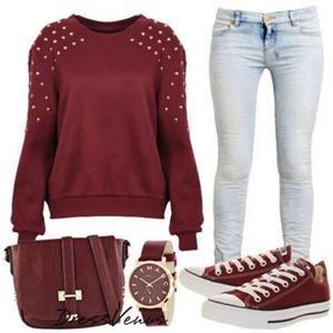 blue-light-skinny-jeans-r-burgundy-sweater-burgundy-shoe-sneakers-burgundy-bag-watch-howtowear-fashion-style-outfit-spring-summer-weekend.jpg