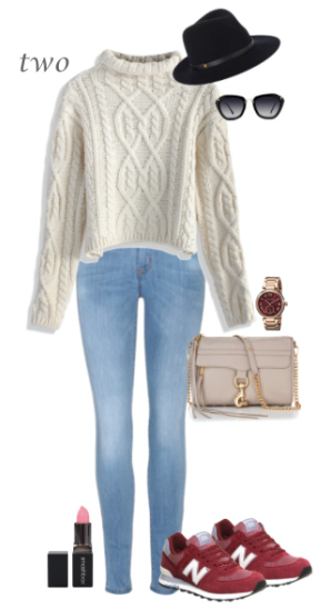 blue-light-skinny-jeans-white-sweater-howtowear-fashion-style-outfit-fall-winter-hat-cableknit-red-shoe-sneakers-sun-watch-tan-bag-weekend.jpg