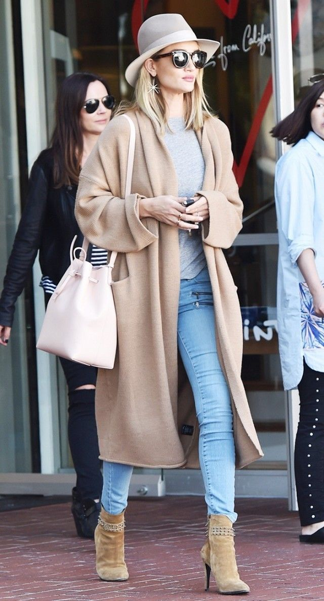 blue-light-skinny-jeans-grayl-tee-hat-sun-tan-cardiganl-tan-shoe-booties-rosiehuntington-earrings-white-bag-fall-winter-weekend.jpg