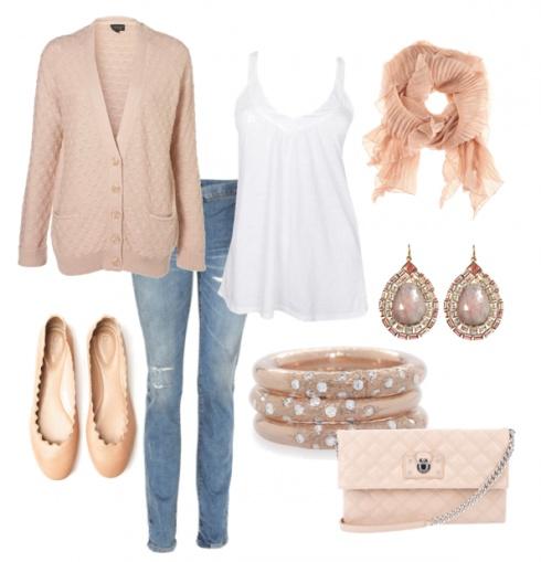 blue-light-skinny-jeans-white-top-tank-peach-cardiganl-peach-scarf-bracelet-peach-bag-earrings-tan-shoe-flats-howtowear-fashion-style-spring-summer-outfit-lunch.jpg