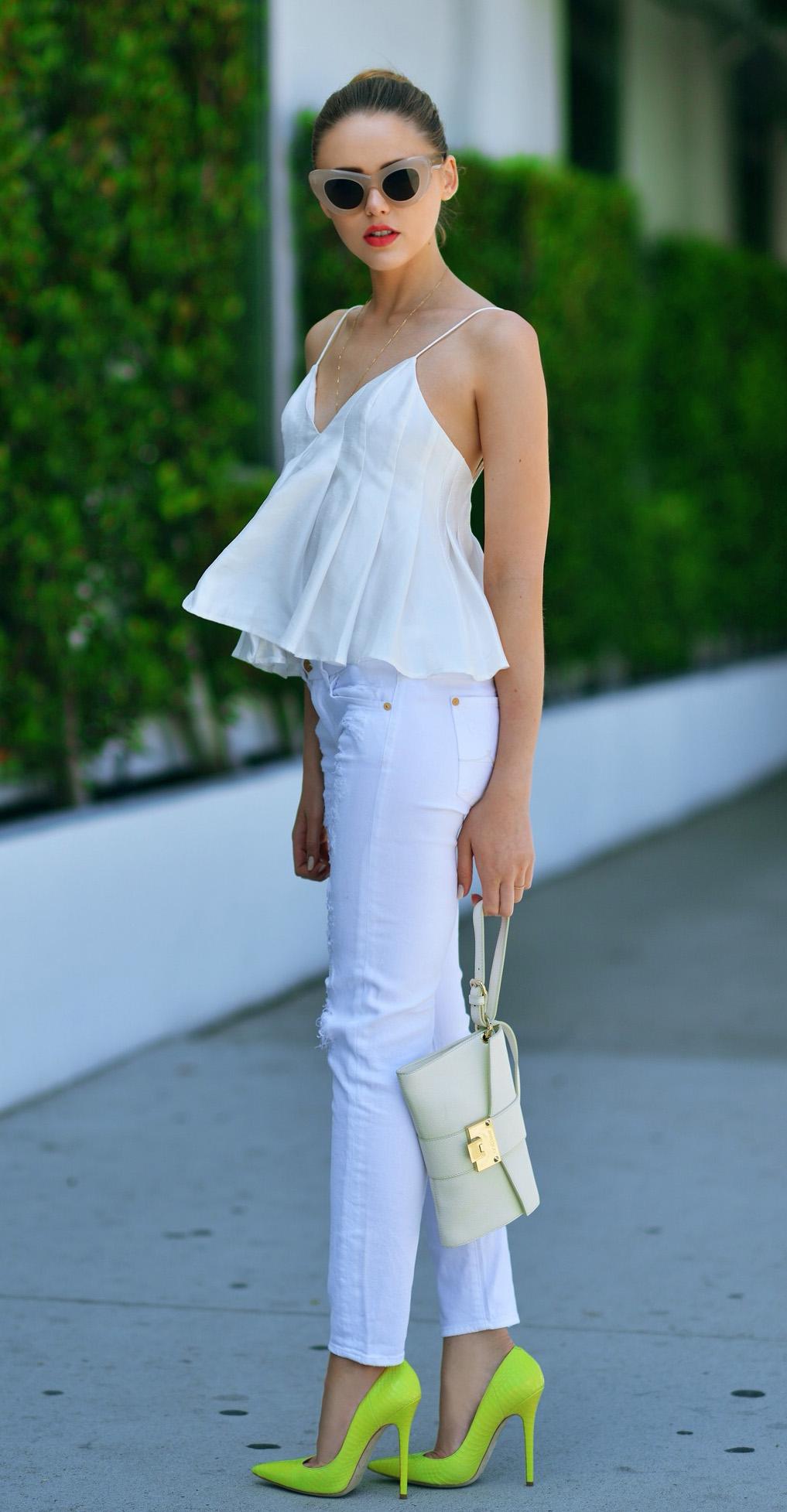 66bfd6bf70c white-skinny-jeans-white-cami-necklace-bun-sun-