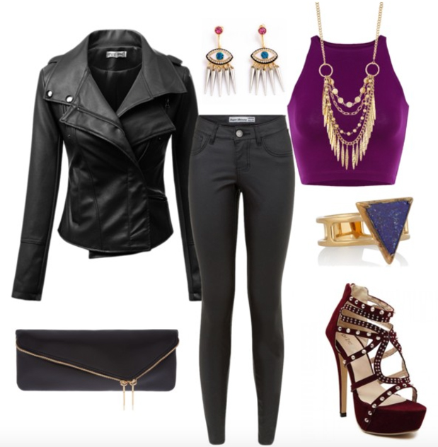 black-skinny-jeans-purple-royal-top-crop-black-jacket-moto-howtowear-fashion-style-outfit-fall-winter-halter-necklace-earrings-black-bag-clutch-red-shoe-sandalh-ring-clutch-dinner.jpg