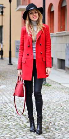 black-skinny-jeans-grayl-sweater-red-jacket-coat-turtleneck-red-bag-black-shoe-booties-hat-howtowear-fashion-style-outfit-fall-winter-blonde-lunch.jpg