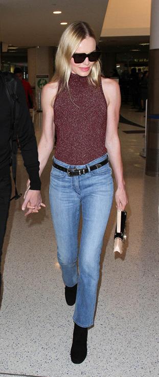 blue-light-crop-jeans-burgundy-top-belt-blonde-sun-black-shoe-booties-fall-winter-weekend.jpg