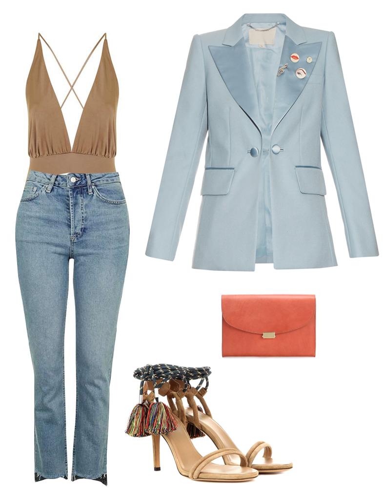 blue-light-crop-jeans-tan-top-halter-blue-light-jacket-blazer-tan-shoe-sandalh-orange-bag-clutch-howtowear-fashion-style-outfit-spring-summer-dinner.jpg