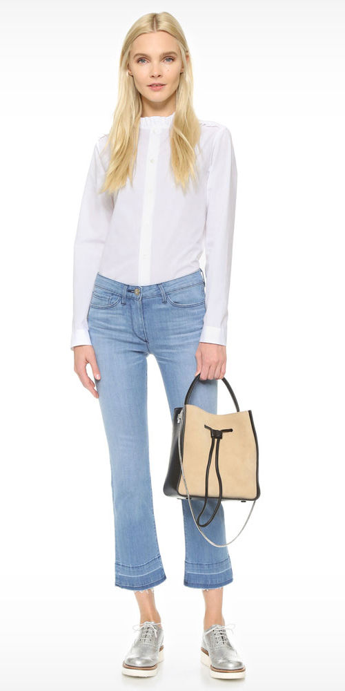 blue-light-crop-jeans-white-collared-shirt-gray-shoe-brogues-blonde-tan-bag-wear-fashion-style-spring-summer-oxfords.jpg