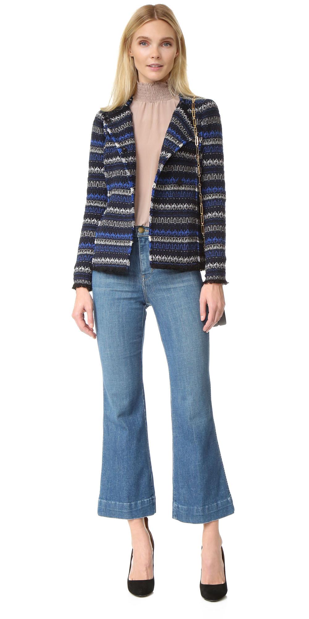 blue-light-crop-jeans-tan-top-blouse-blonde-blue-navy-jacket-lady-fall-winter-lunch.jpg