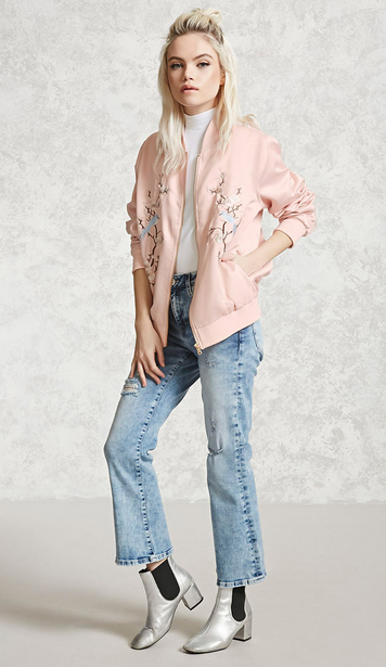 blue-light-crop-jeans-white-top-pink-light-jacket-bomber-grayl-shoe-booties-forever21-howtowear-fashion-style-outfit-spring-summer-blonde-lunch.jpg