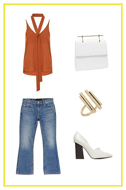 blue-med-crop-jeans-white-shoe-pumps-ring-white-bag-orange-cami-spring-summer-lunch.jpg