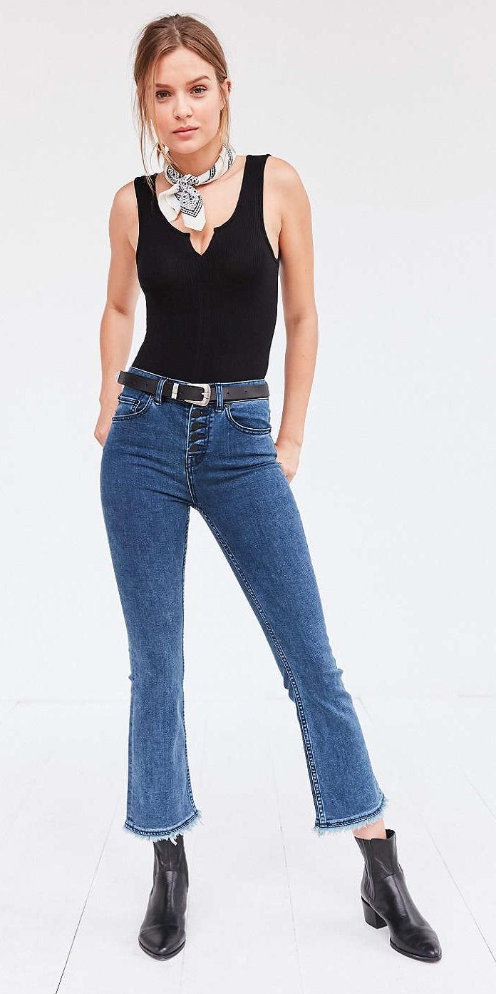 blue-med-crop-jeans-black-top-tank-white-scarf-bandana-neck-belt-bun-wear-fashion-style-spring-summer-hairr-lunch.jpg