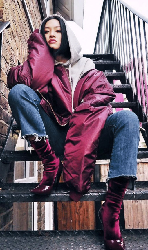 blue-med-crop-jeans-hoodie-burgundy-shoe-booties-grayl-sweater-sweatshirt-burgundy-jacket-bomber-fall-winter-brun-lunch.jpg