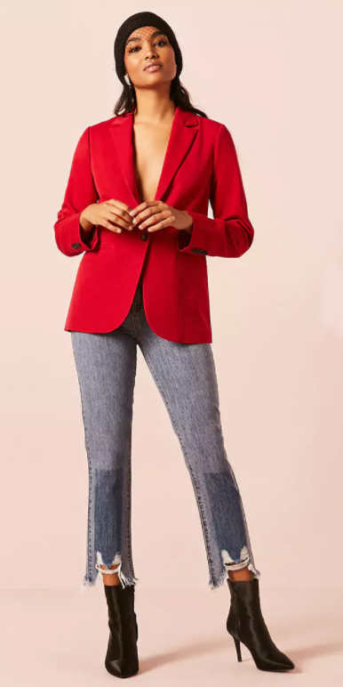 blue-med-crop-jeans-black-shoe-booties-red-jacket-blazer-boyfriend-fall-winter-brun-dinner.jpg