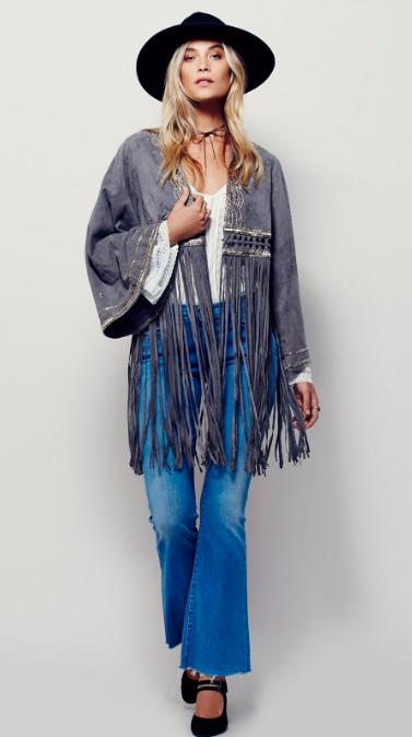 blue-med-crop-jeans-white-top-blouse-peasant-grayd-jacket-poncho-fringe-hat-choker-black-shoe-pumps-wear-fashion-style-fall-winter-blonde-lunch.jpg