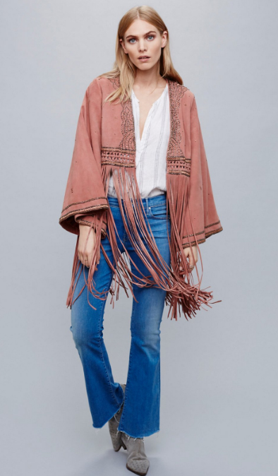 blue-med-crop-jeans-white-top-blouse-pink-light-jacket-poncho-gray-shoe-booties-spring-summer-fringe-cape-blonde-lunch.jpg