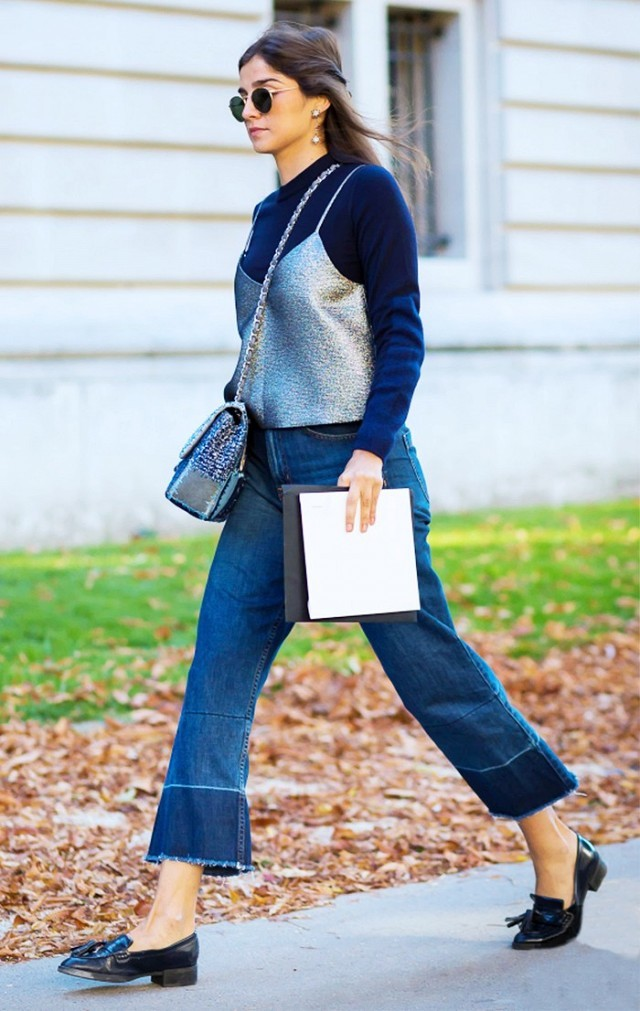 blue-navy-crop-jeans-silk-blue-navy-sweater-grayl-cami-loafers-sun-earrings-fall-winter-brun-lunch.jpg