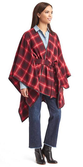 blue-navy-crop-jeans-blue-light-collared-shirt-burgundy-jacket-coat-cape-plaid-black-shoe-booties-wear-fashion-style-fall-winter-brun-lunch.jpg
