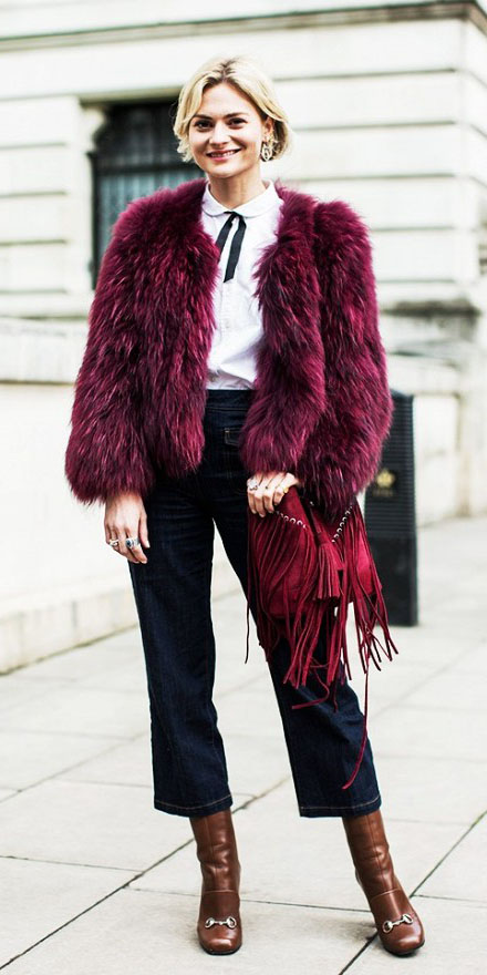blue-navy-crop-jeans-brown-shoe-boots-red-bag-white-top-blouse-bob-burgundy-jacket-coat-fur-fuzz-fall-winter-blonde-lunch.jpg