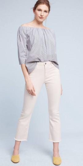 white-crop-jeans-blue-light-top-offshoulder-bun-yellow-shoe-pumps-mules-spring-summer-lunch.jpg
