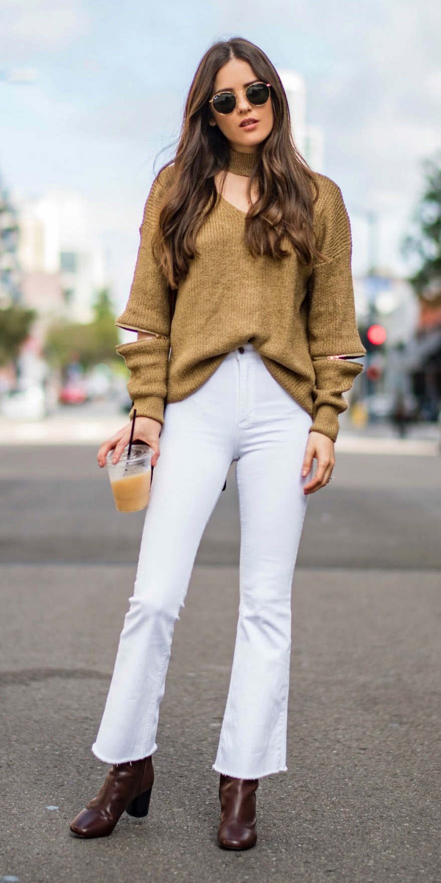 white-crop-jeans-flare-camel-sweater-slouchy-sun-brown-shoe-booties-fall-winter-hairr-lunch.jpg