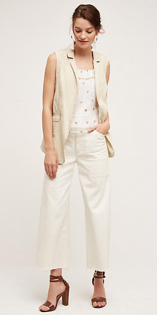 white-crop-jeans-white-cami-tan-vest-trench-brown-shoe-sandalh-bun-howtowear-fashion-style-outfit-spring-summer-hairr-weekend.jpg