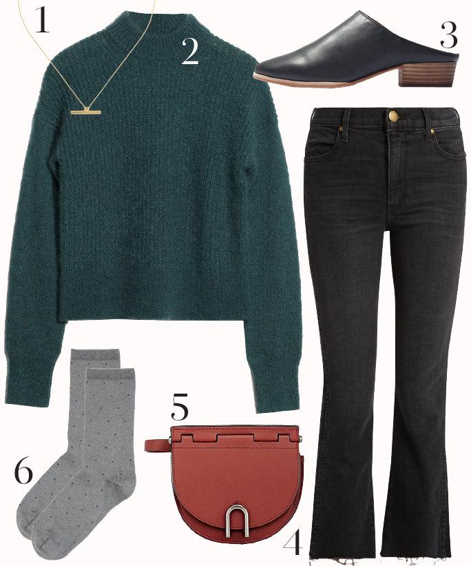 black-crop-jeans-green-dark-sweater-black-shoe-mules-cognac-bag-howtowear-fashion-style-outfit-fall-winter-socks-necklace-work.jpg