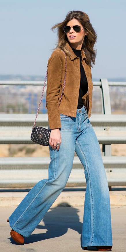 blue-light-flare-jeans-black-tee-camel-jacket-suede-sun-black-bag-mini-cognac-shoe-booties-fall-winter-hairr-lunch.jpg