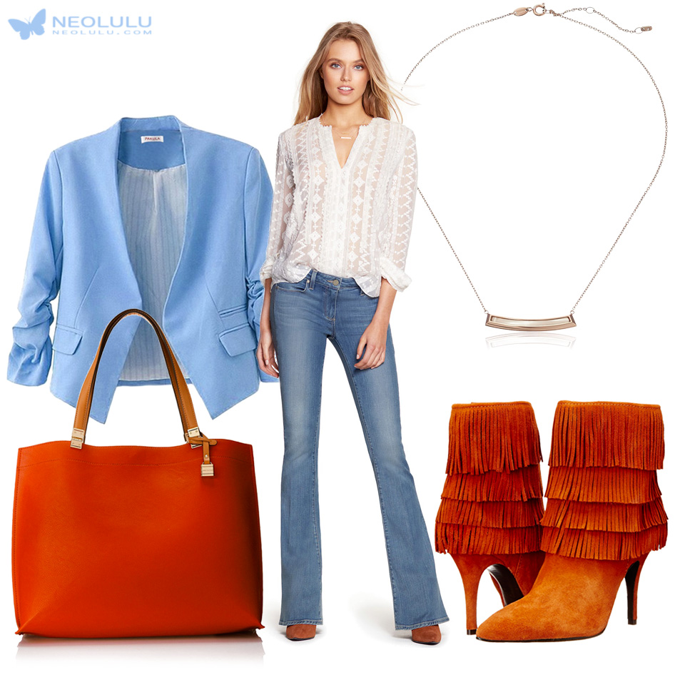 blue-light-flare-jeans-white-top-blouse-necklace-cognac-shoe-booties-cognac-bag-tote-blue-light-jacket-blazer-crop-fall-winter-lunch.jpg