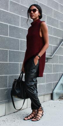burgundy-sweater-sleeveless-black-shoe-sandals-sun-brun-fall-winter-weekend.jpg