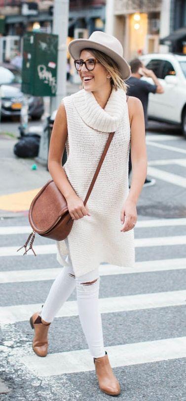 white-skinny-jeans-cognac-shoe-booties-cognac-bag-white-sweater-sleeveless-hat-blonde-fall-winter-weekend.jpg