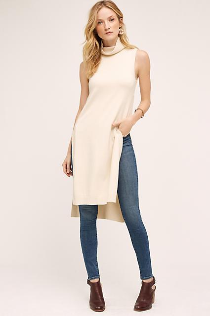 blue-med-skinny-jeans-white-sweater-sleeveless-brown-shoe-booties-earrings-fall-winter-tunic-turtleneck-blonde-lunch.jpg