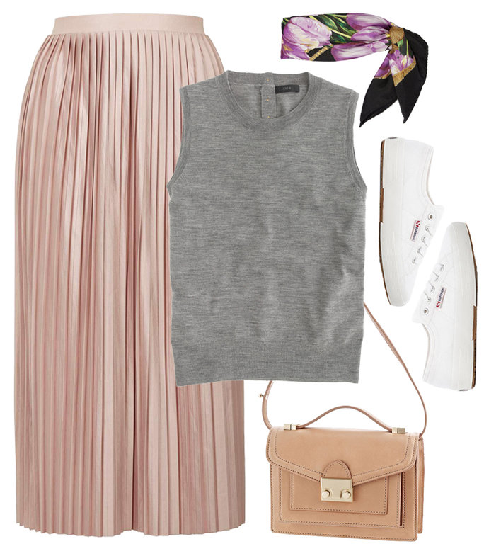 pink-light-midi-skirt-grayl-sweater-sleeveless-white-shoe-sneakers-purple-light-scarf-neck-print-tan-bag-spring-summer-lunch.jpg