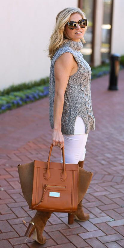 white-skinny-jeans-grayl-sweater-sleeveless-cognac-bag-tote-cognac-shoe-boots-blonde-sun-fall-winter-lunch.jpg