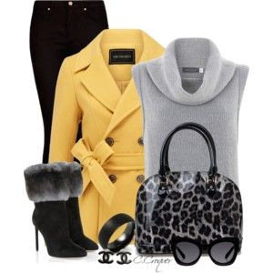 black-skinny-jeans-grayl-sweater-sleeveless-black-bag-sun-bracelet-studs-yellow-jacket-coat-peacoat-fall-winter-lunch.jpg