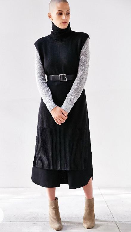 black-culottes-pants-black-sweater-sleeveless-grayl-tee-tan-shoe-booties-fall-winter-wide-belt-turtleneck-lunch.jpg