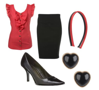 black-pencil-skirt-red-top-blouse-head-studs-black-shoe-pumps-business-casual-howtowear-fashion-style-outfit-spring-summer-work.jpg