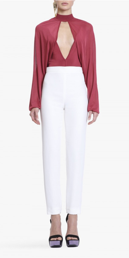 white-slim-pants-red-top-blouse-black-shoe-sandalw-howtowear-fashion-style-outfit-spring-summer-dinner.jpg