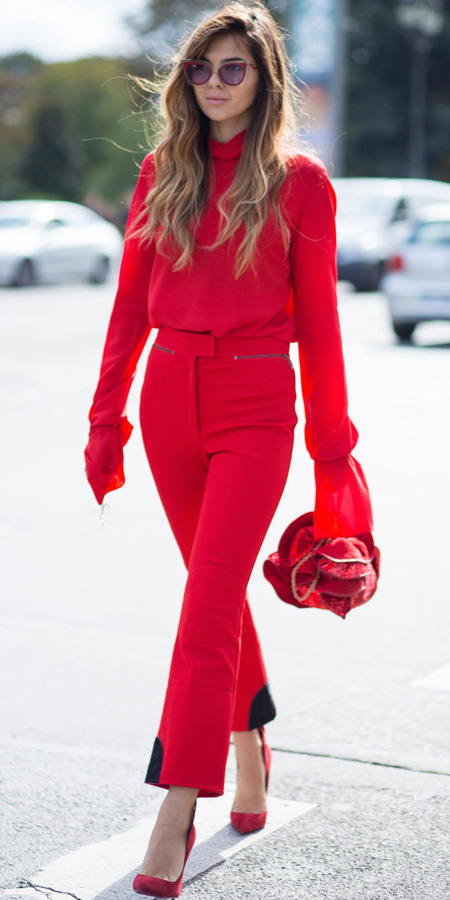 red-culottes-pants-red-top-blouse-red-bag-red-shoe-pumps-hairr-sun-mono-fall-winter-lunch.jpg