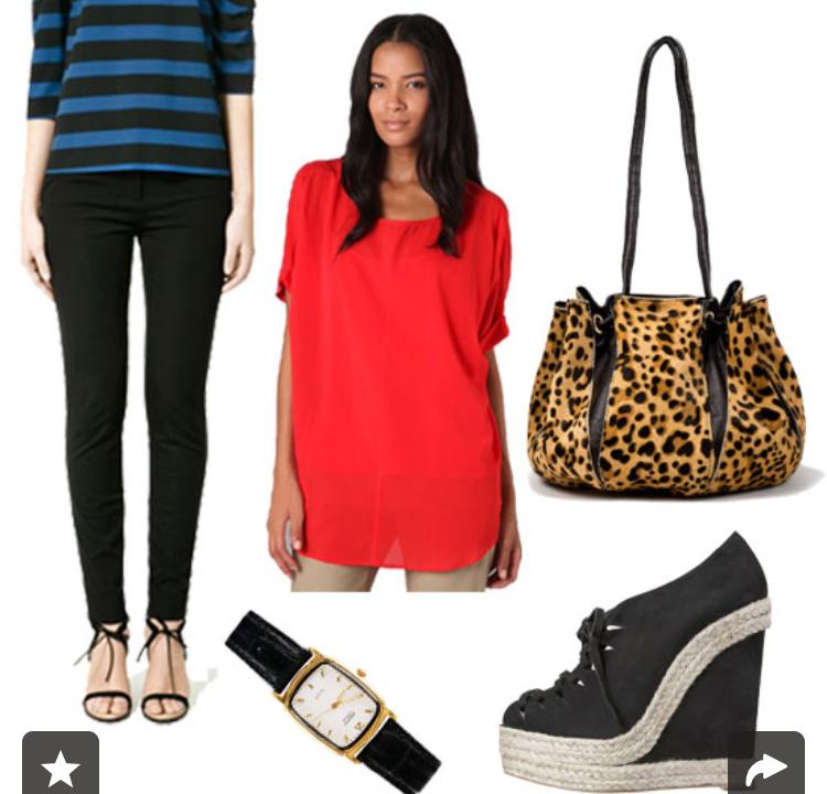 black-skinny-jeans-red-top-howtowear-style-fashion-fall-winter-black-shoe-booties-tan-bag-watch-leopard-wedges-brun-work.jpg