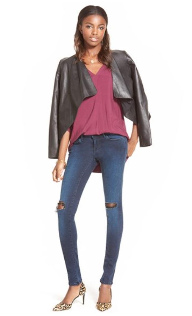 blue-navy-skinny-jeans-r-burgundy-top-black-jacket-moto-tan-shoe-pumps-leopard-howtowear-style-fashion-fall-winter-brun-dinner.jpg