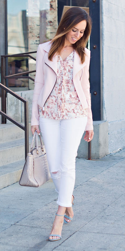 white-skinny-jeans-pink-light-top-blouse-print-blue-shoe-sandalh-pastel-pink-light-jacket-moto-spring-summer-hairr-lunch.jpg