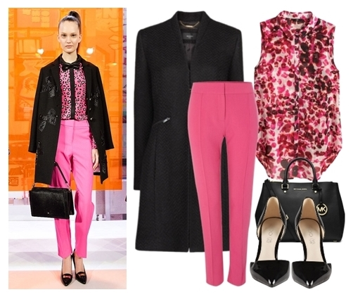 r-pink-magenta-slim-pants-pink-magenta-top-blouse-black-jacket-coat-pony-black-bag-black-shoe-pumps-howtowear-fashion-style-outfit-fall-winter-hairr-work.jpg