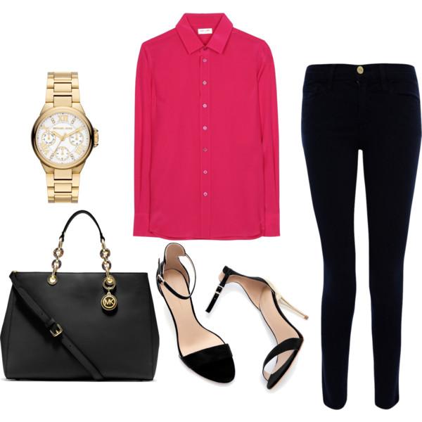 black-skinny-jeans-r-pink-magenta-top-blouse-black-bag-black-shoe-sandalh-watch-howtowear-fashion-style-outfit-spring-summer-work.jpg