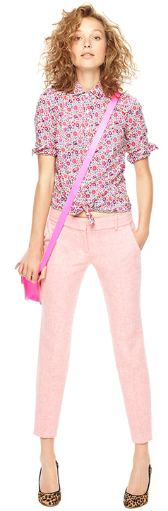 r-pink-light-skinny-jeans-r-pink-magenta-top-blouse-pink-bag-crossbody-tan-shoe-pumps-leopard-floral-howtowear-fashion-style-outfit-hairr-spring-summer-lunch.jpg