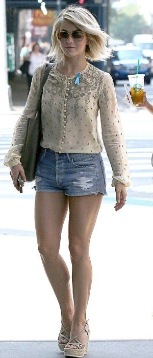 blue-light-shorts-tan-top-blouse-tan-shoe-sandalw-sun-denim-juliannehough-blonde-spring-summer-lunch.jpg