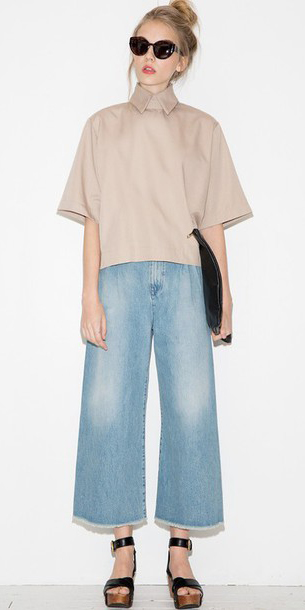 blue-light-culottes-pants-tan-top-denim-jean-black-shoe-sandalw-sun-bun-spring-summer-blonde-lunch.jpg