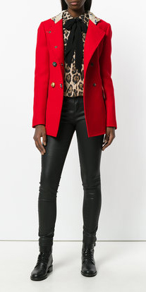 black-skinny-jeans-tan-top-blouse-leopard-print-brun-red-jacket-coat-peacoat-fall-winter-lunch.jpg